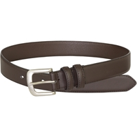 1.5 inch Brown Leather Belt
