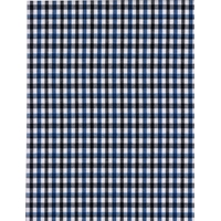 Blue/Black/White Check