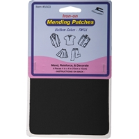 Black Iron-on Mending Kit