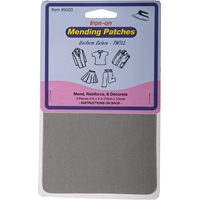Iron-on Mending Kit -Grey