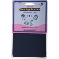 Navy Iron-on Mending Kit