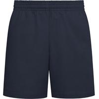 Parker Navy Pull-On Walk Shorts