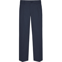 Parker Navy Pleated Front Pants