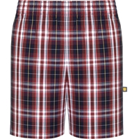 Ridgeland Plaid Pull-On Walk Shorts